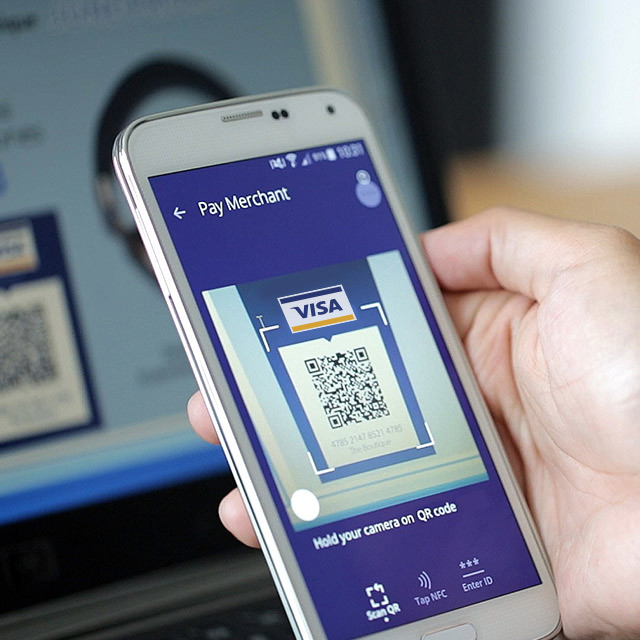 Scan to pay payment