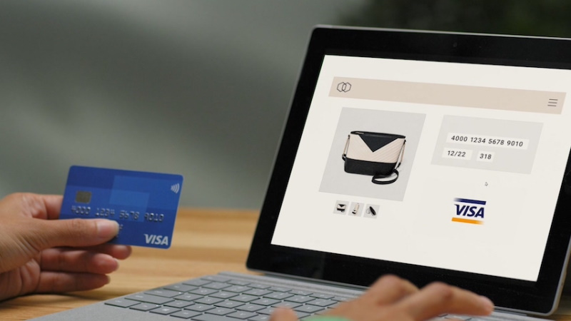 Paying for goods online